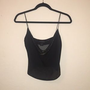 Express Plunging Neck Top
